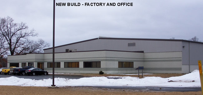Projects - Steel Erection Corp - Portfolio factory office