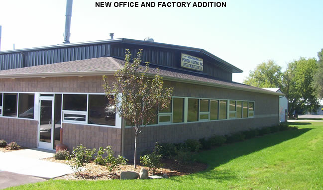 New Office and Factory Addition | Steel Erection Corp